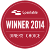 Winner Diner's Choice 2014